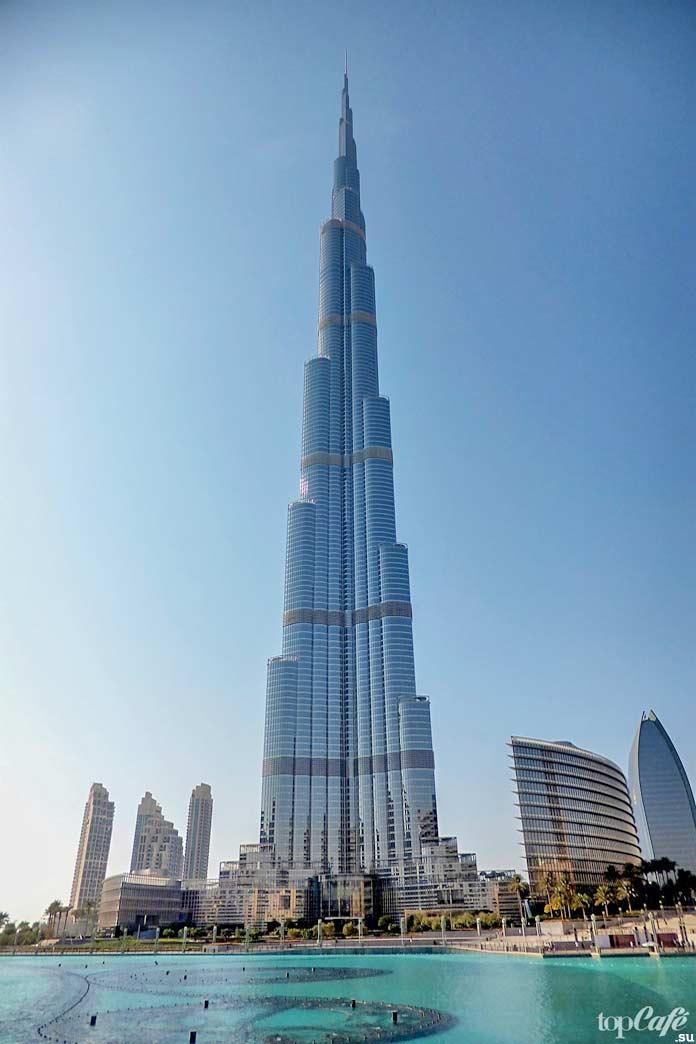 Бурдж Халифа - Самое высокое здание в мире. CC0