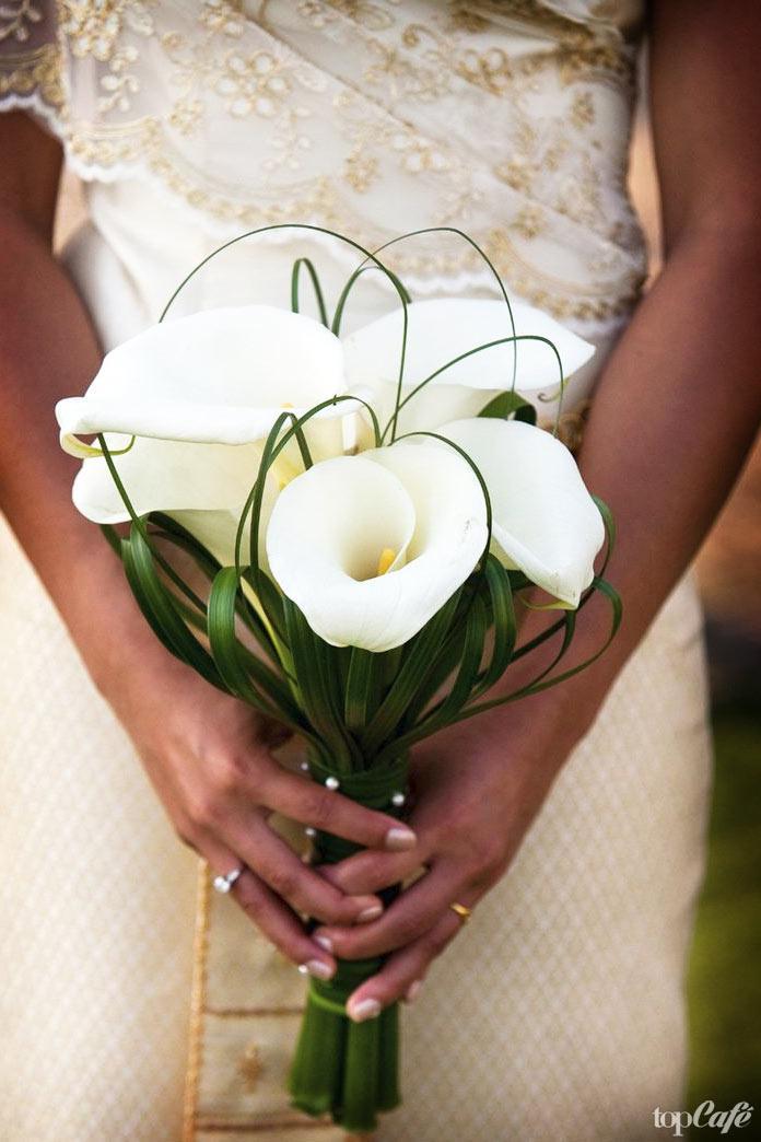 Красивые свадебные цветы: Calla Lily