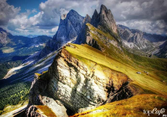 Доломитовые Альпы в северо-восточной Италии. CC0