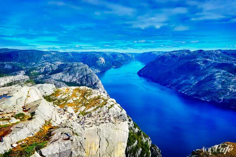 Прекрасные места Европы: Фьорды. CC0