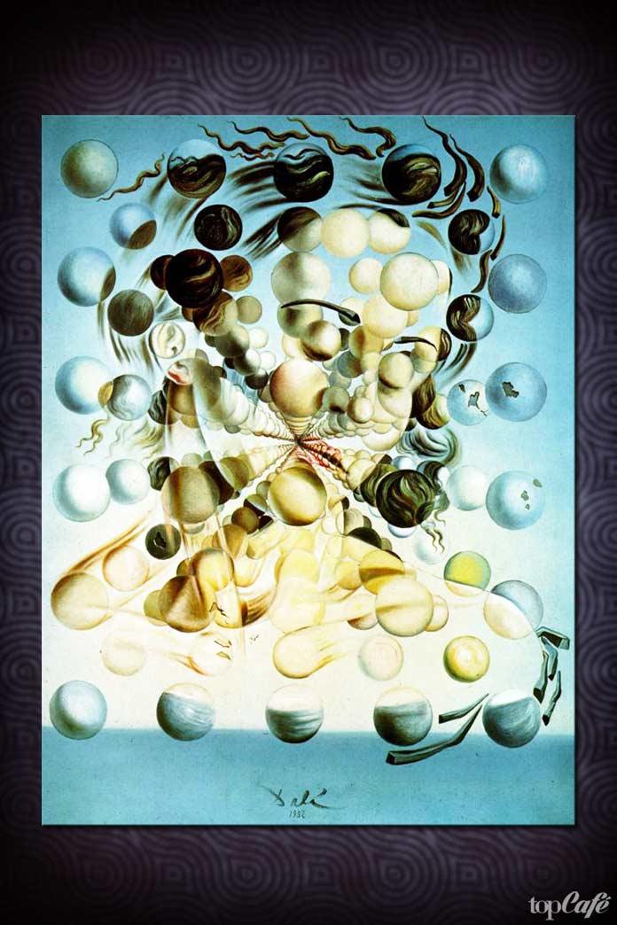 Популярные картины Сальвадора Дали: Галатея со сферами