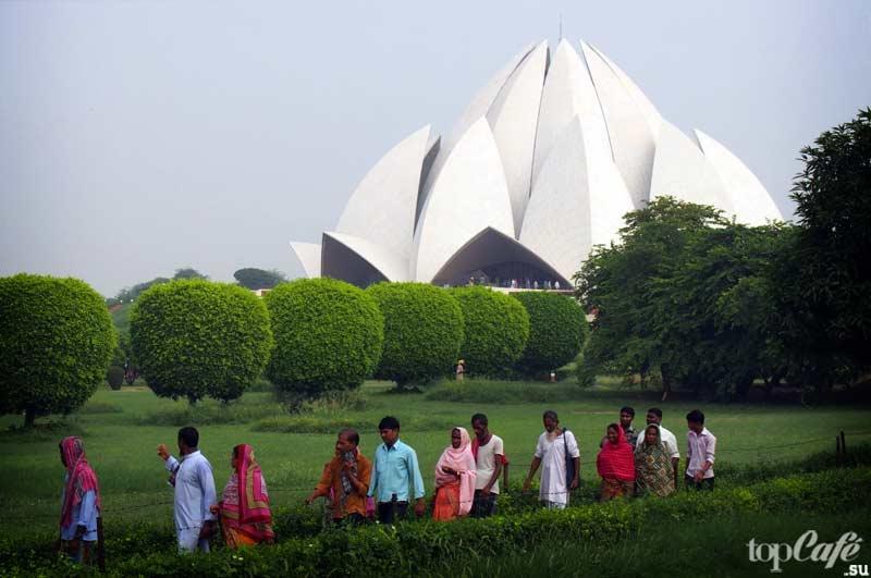 Самые большие храмы в Индии: Храм Лотоса. CC0