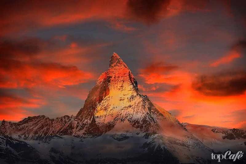 Красивые места Европы: Matterhorn. CC0