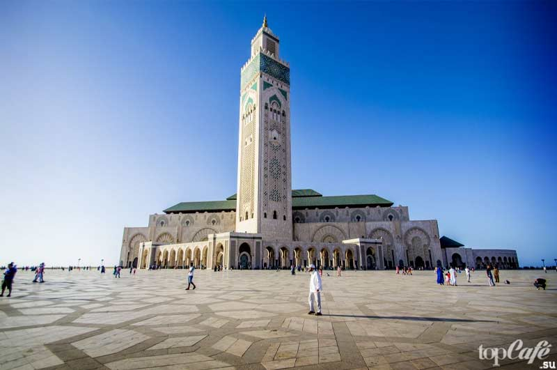 Мечеть Хассана II. CC0