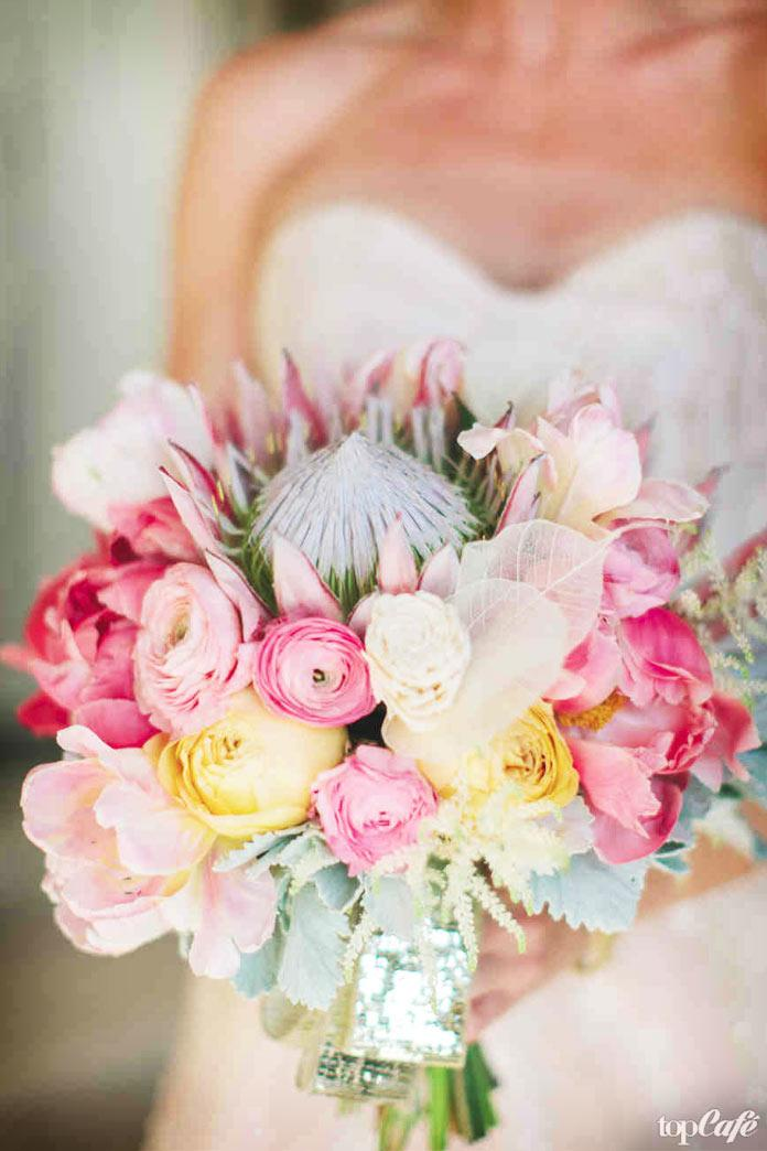 Ranunculus to the wedding