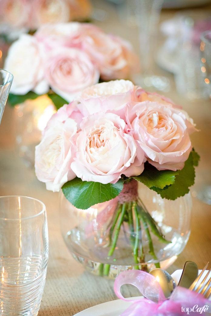 Красивые свадебные цветы: Роза