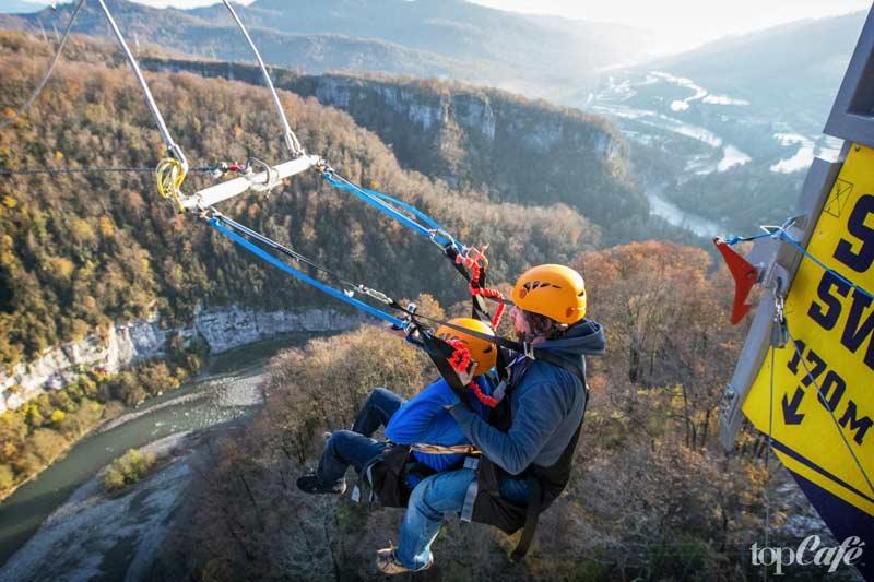 SochiSwing - одна из самых высоких вещей в мире