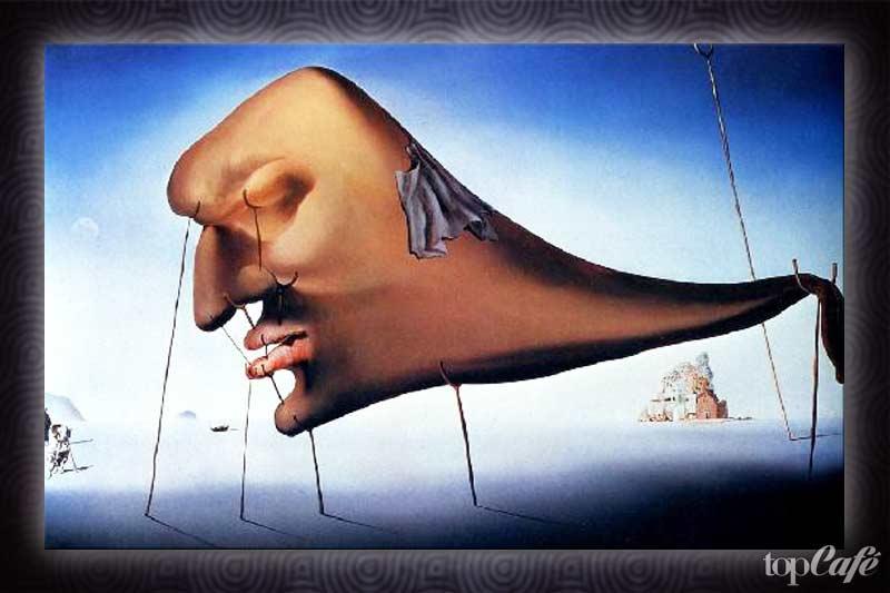 картины Сальвадора Дали: Сон