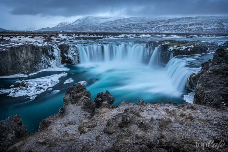 Водопад Годафосс. CC0