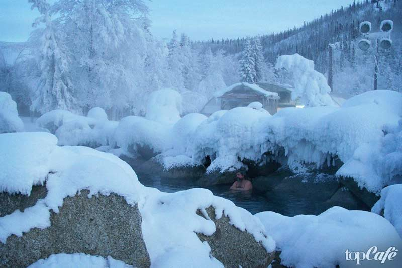 Курорты Аляски: Chena Hot Springs Resort