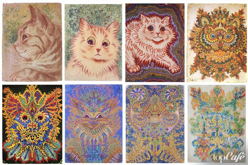 Луи Уэйн и коты: несколько историй о шизофрениках