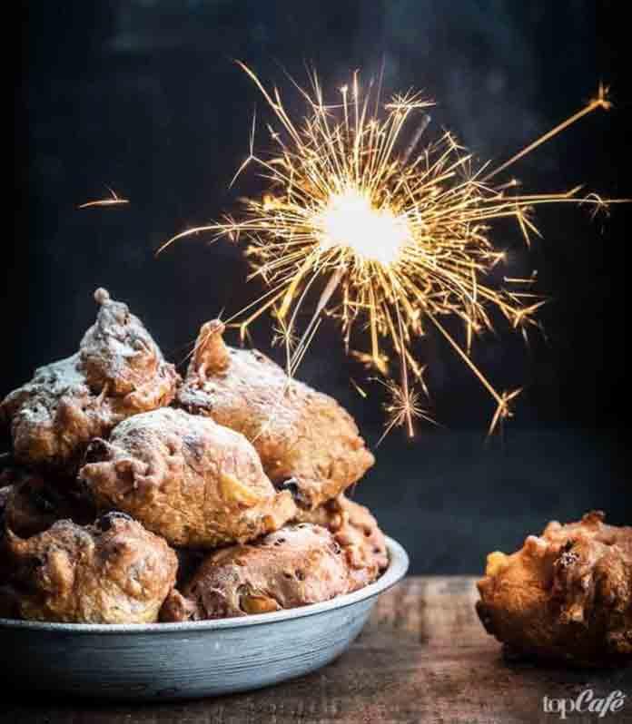 Рождественское меню Голландии: Пончики