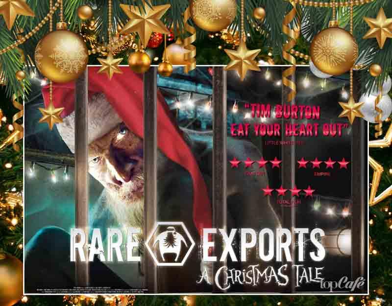 Популярные новогодние фильмы Финляндии: Rare Exports 2010