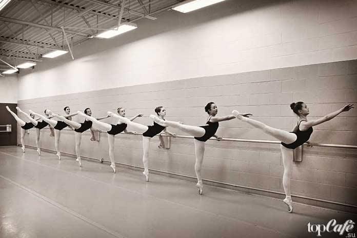 Тренировка по балету