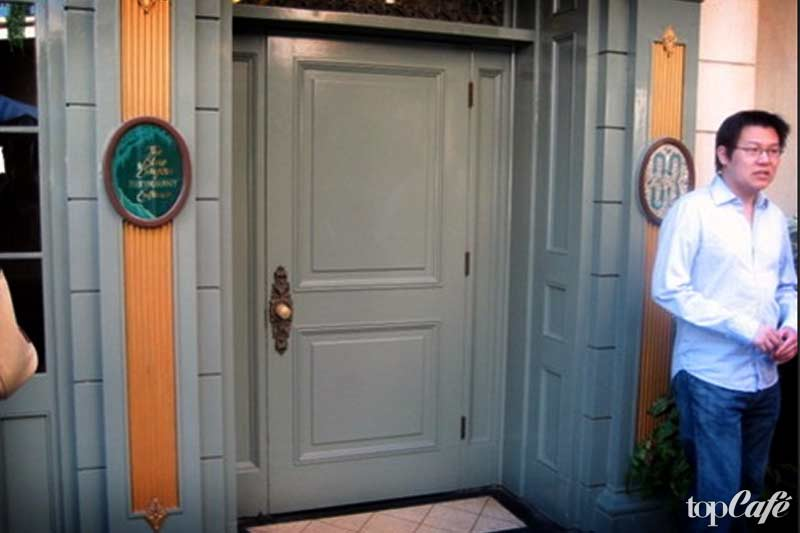 CLUB 33, DISNEYLAND CALIFORNIA