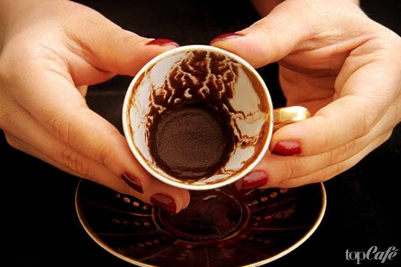 Гадание на кофейной гуще значение на тарелке