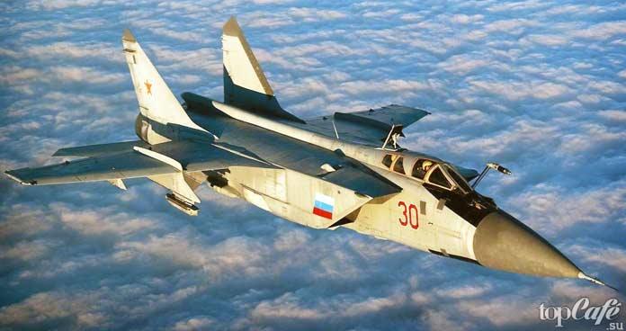 Самые высотные самолеты в мире: МиГ-25