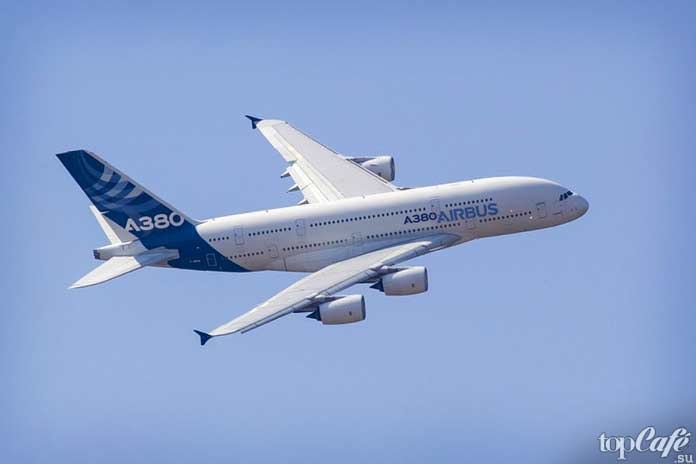 Самые высотные самолеты в мире: Airbus А380. CC0