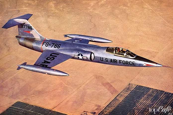 Самые высотные самолеты в мире: Lockheed F-104 Starfighter. CC0