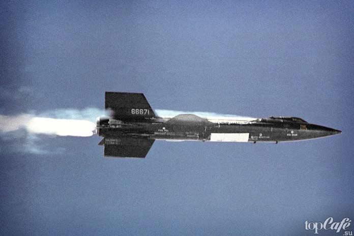 Самые высотные самолеты в мире: North American X-15. CC0