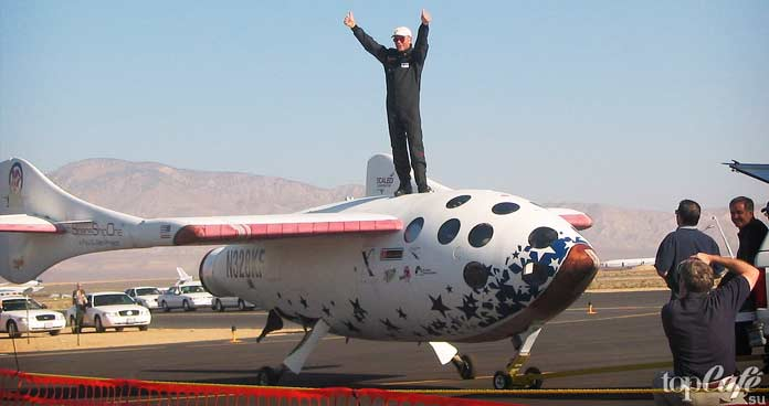 Самые высотные самолеты в мире: SpaceShipOne