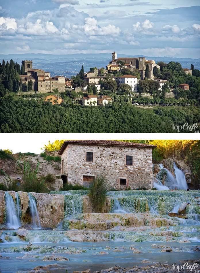 Всё для посещения Тосканы: Термы Montecatini. CC0