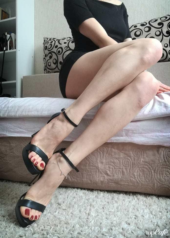 Длинные женские ноги