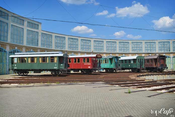 Парк венгерской железной дороги