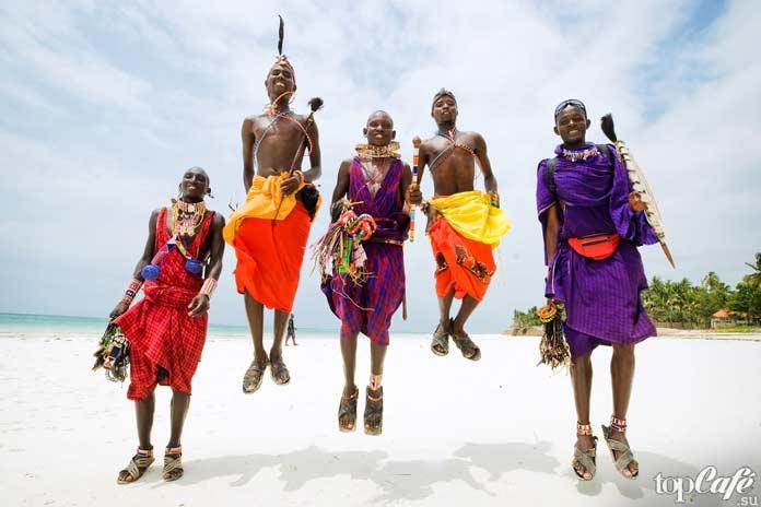 Приветствие масаи