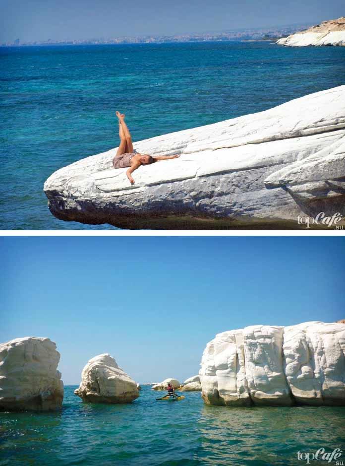 Белые скалы Лимассола - список достопримечательностей Кипра
