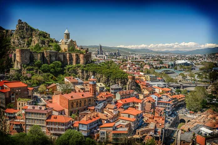 Гори - один из самых красивых городов Грузии