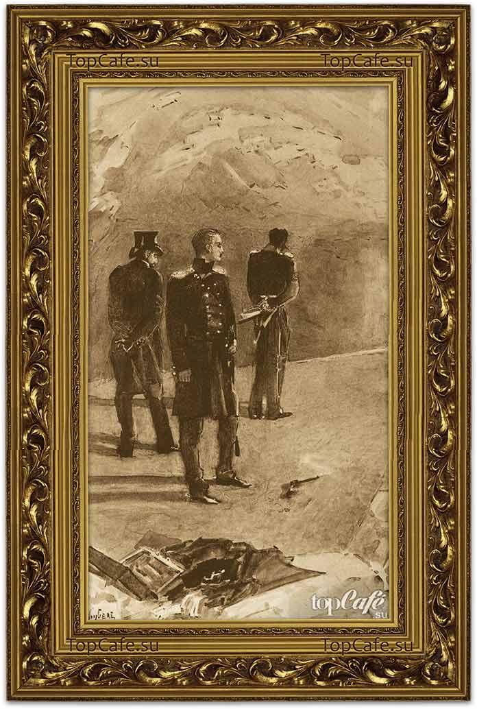 Самые знаменитые картины Врубеля: Дуэль Печорина с Грушницким