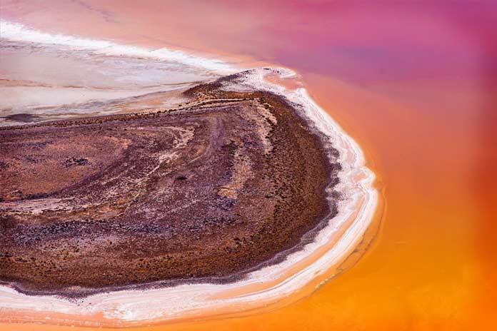 Эйр. Самые большие озёра в Австралии