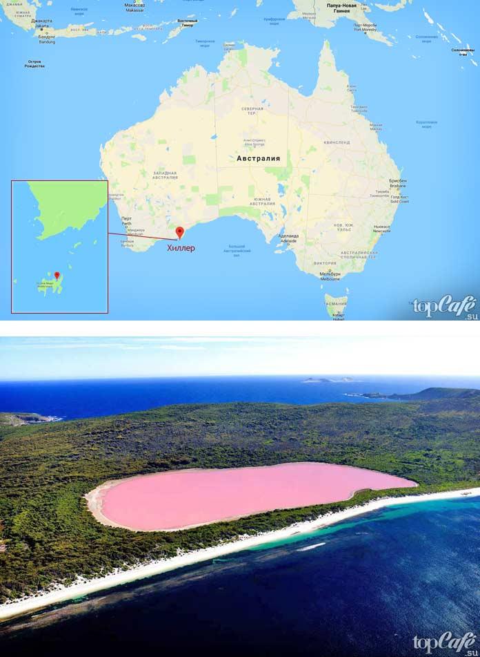 Хиллер. Самые крупные озёра в Австралии