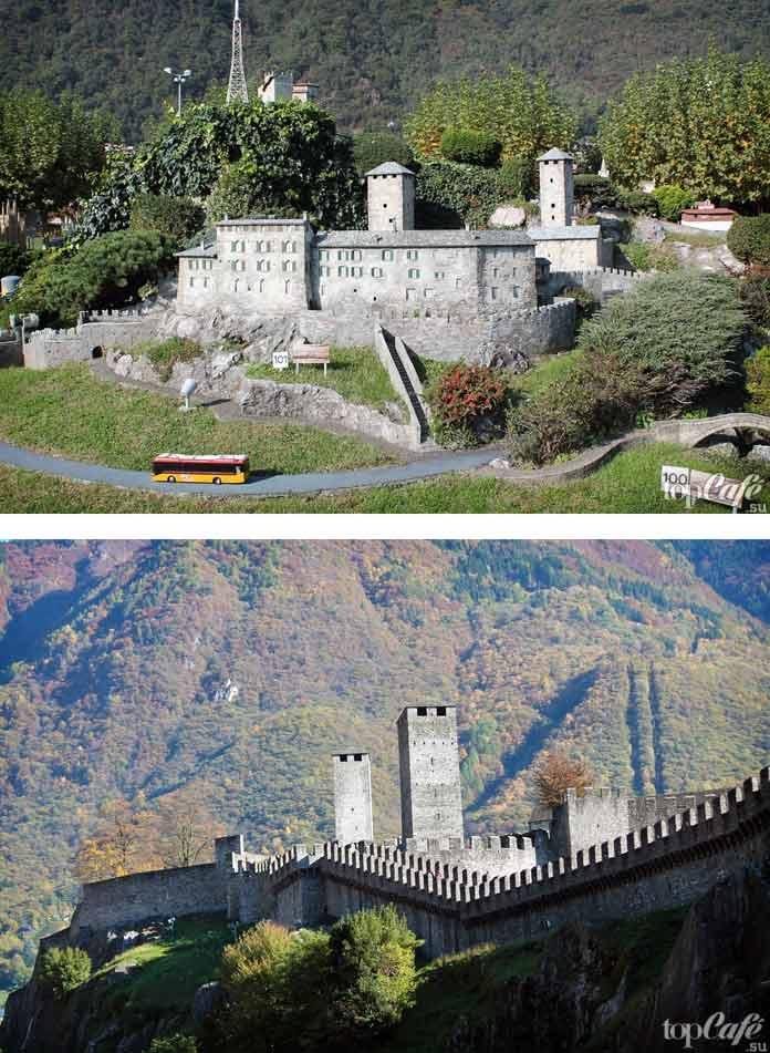 Кастельгранде - один из самых красивых замков Швейцарии. CC0