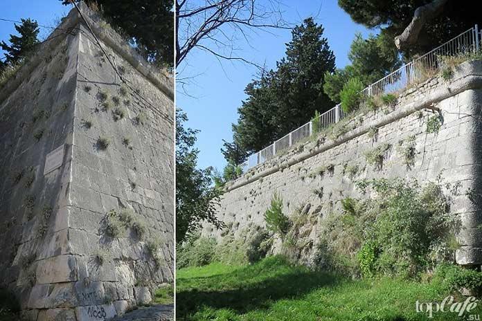 Крепость в Грипе