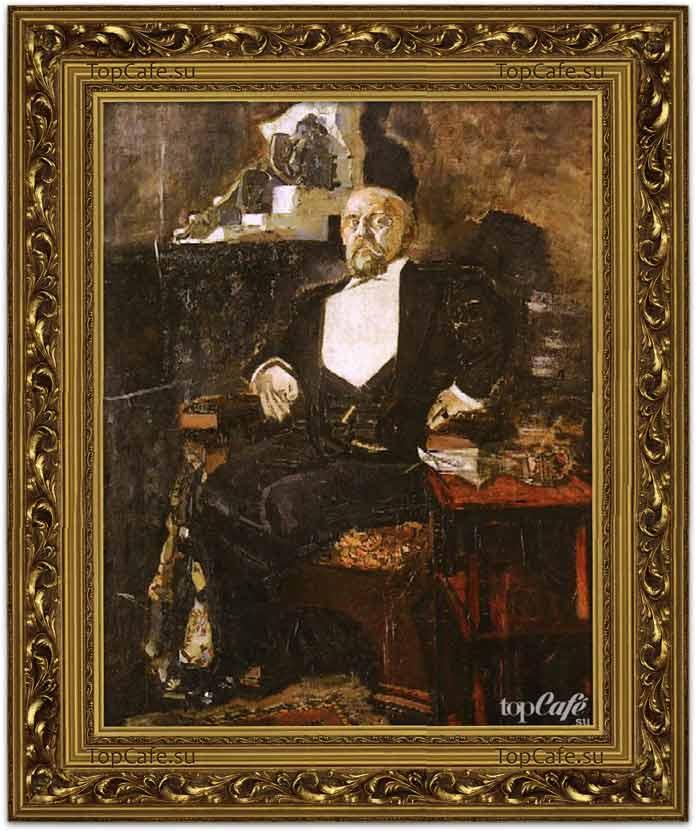 Самые знаменитые картины Врубеля: Портрет Саввы Мамонтова (1897)