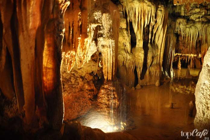 Пещера Баредине - один из удивительных гротов Хорватии