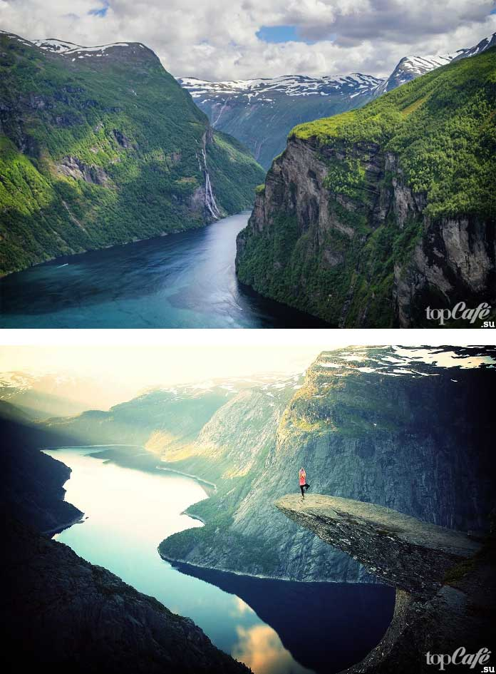 Фьорды Норвегии. CC0