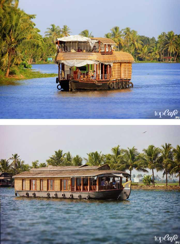 Каналы Керала в Индии. CC0