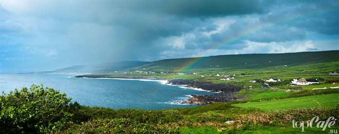 Деревня Фанор в графстве Клэр - одно из самых живописных мест Ирландии