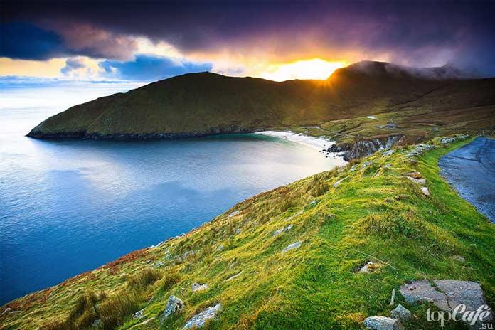 Бухта Ким в графстве Мейо - одно из самых живописных мест Ирландии