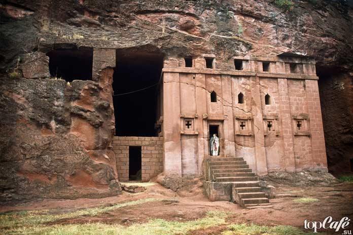 Часть храмового комплекса Лалибэлы