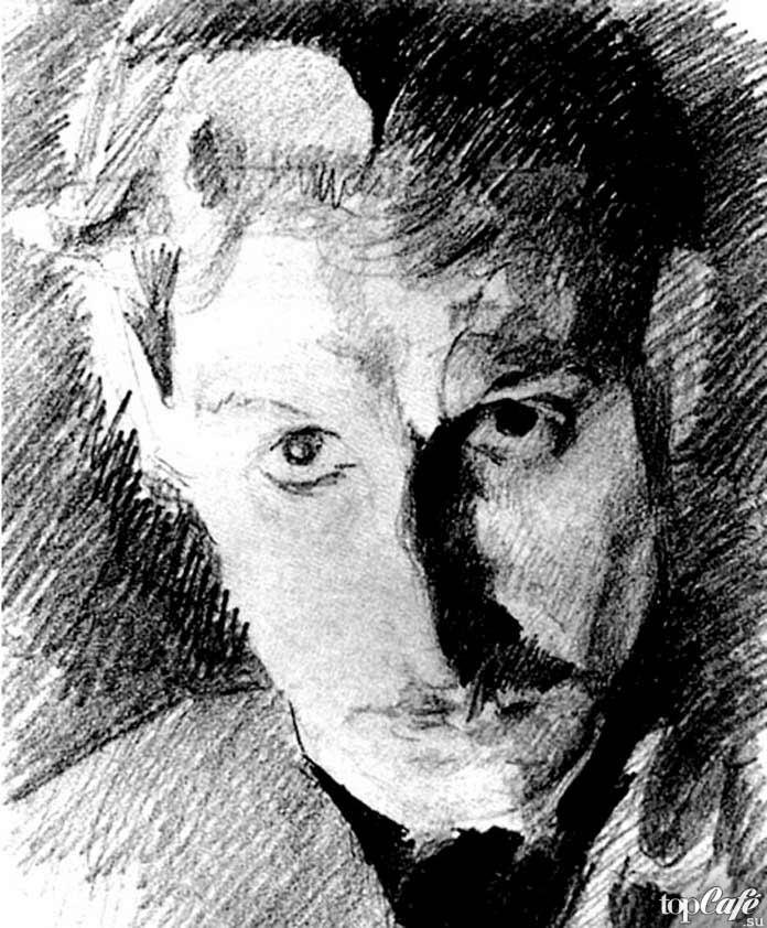 Знаменитые картины Врубеля: Автопортрет. 1885