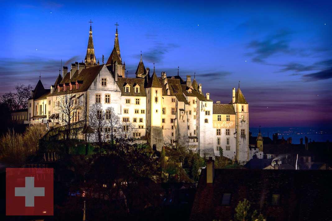 ТОП-20 удивительных по красоте замков Швейцарии. CC0