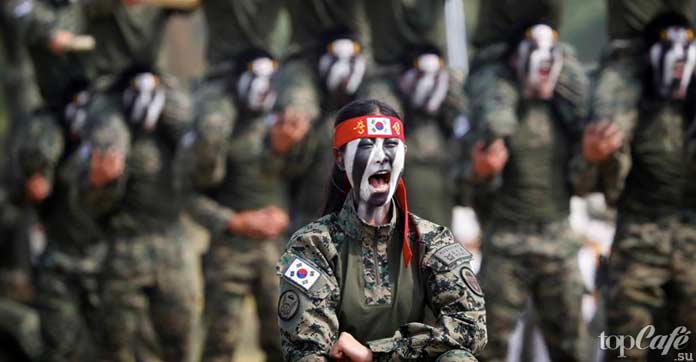 Факты о Южной Корее: Армия
