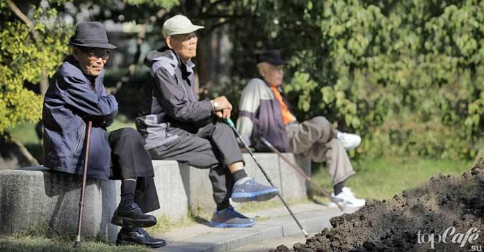 Старые люди Кореи
