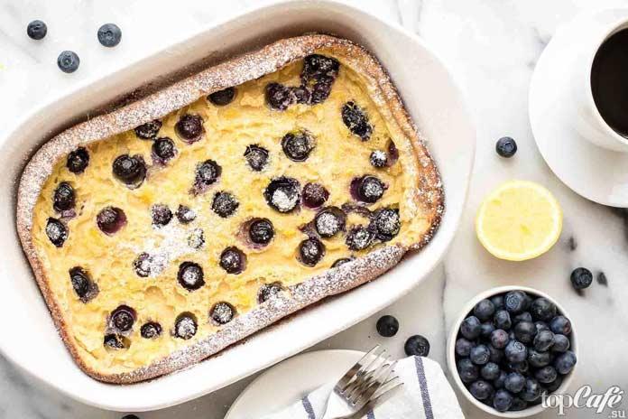 ТОП-5 рецептов завтраков, которые готовятся за 5 минут: Панкейк в духовке