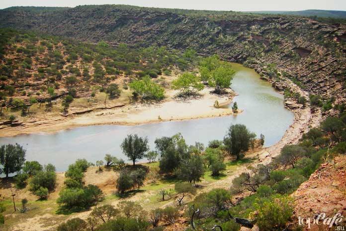 Мерчисон. Самые длинные реки Австралии