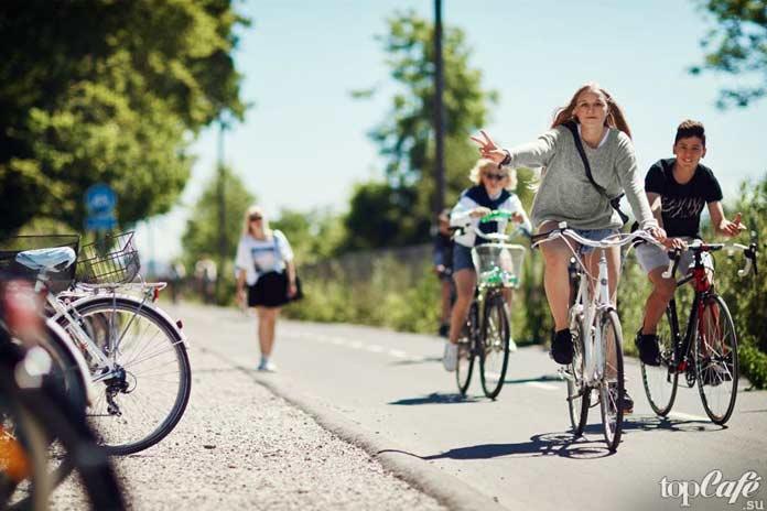 Велосипедния Дания